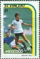 [Football World Cup - Mexico 1986, type ZF]