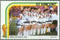 [Football World Cup - Mexico 1986, type ZG]