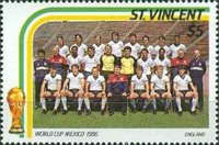 [Football World Cup - Mexico 1986, type ZI]