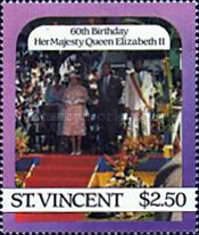 [The 60th Anniversary of the Birth of Queen Elizabeth II, type ZM]