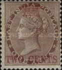 [India Postage Stamps Surcharged in Different Colours, Typ A1]