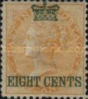 [India Postage Stamps Surcharged in Different Colours, Typ A5]