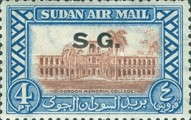 [Airmail - Local Motives - Sudan Postage Stamps of 1950 Overprinted