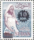 [Stamps of 1962 Surcharged, type BG2]