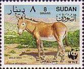 [Worldwide Nature Protection - African Wild Ass, type HB]