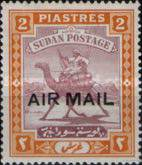 [Airmail - No. 43 Overprinted, type I28]