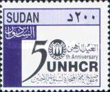 [The 50th Anniversary of the United Nations High Commissioner for Refugees or UNHCR, type IS2]