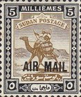 [Airmail - No. 40 & 41 Overprinted, type J14]
