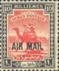 [Airmail - No. 40 & 41 Overprinted, type J15]