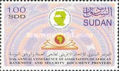[Annual Conference of Association of African Banknote and Security Documents Printers, type JA]