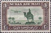 [Airmail - Statue of General C. G. Gordon, type K]