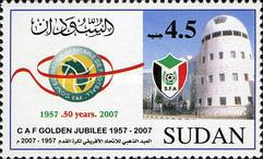 [The 50th Anniversary of Confederation of African Football or CAF, type KF2]