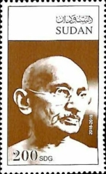 [The 150th Anniversary of the Birth of Mahatma Gandhi, 1869-1948, Typ LH]