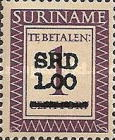 [Postage Due Stamps of 1956 Surcharged, Typ J]