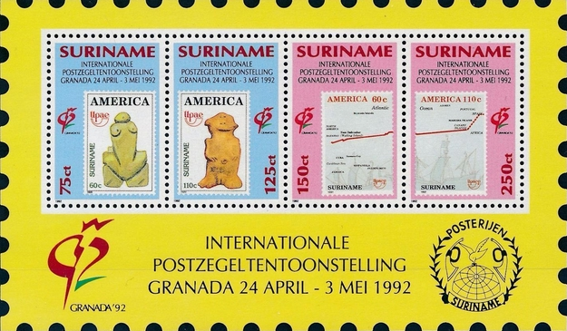 [International Stamp Exhibition GRANADA '92, Typ ]