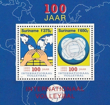 [The 100th Anniversary of the International Volleyball, Typ ]