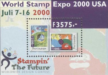 [International Stamp Exhibition WORLD STAMP EXPO 2000 - Anaheim, California, type ]
