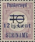 [Postage Due Stamps Surcharged & Overprinted