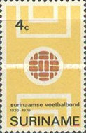 [The 50th Anniversary of Surinam Football Association, type ABN]