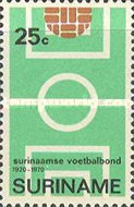 [The 50th Anniversary of Surinam Football Association, type ABQ]