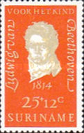 [Child Welfare - The 200th Anniversary of the Birth of Ludwig van Beethoven, Composer, 1770-1827, type ABU]