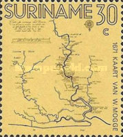 [The 300th Anniversary of First Surinam Map, type ACK]