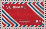 [The 50th Anniversary of 1st Airmail in Surinam, Typ ADN]