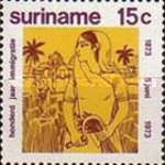 [The 100th Anniversary of Arrival of Indian Immigrants in Surinam, Typ AEB]