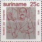 [The 100th Anniversary of Arrival of Indian Immigrants in Surinam, Typ AEC]