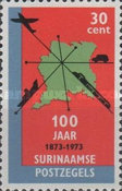 [The 100th Anniversary of Surinam Stamps, Typ AEP]
