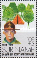 [The 50th Anniversary of Scouting in Surinam, Typ AFB]