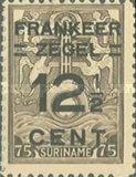 [Unissued Marine Insurance Stamps Overprinted
