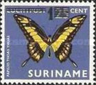 [Butterflies Issue of 1972 Surcharged, Typ AJH]