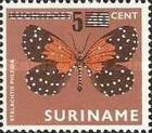 [Butterflies Issue of 1972 Surcharged, Typ AJK]
