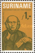[The 100th Anniversary of the Birth of Sir Rowland Hill, 1795-1879, Typ AMP]