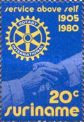 [The 75th Anniversary of Rotary International, Typ AMX]