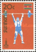[Olympic Games - Moscow, USSR, Typ ANI]