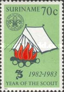 [The 75th Anniversary of Scouting, Typ ART]