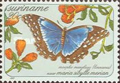 [Butterflies - Paintings by Maria Sibylle Merian, Typ ASV]