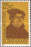 [The 500th Anniversary of the Birth of Martin Luther, Protestant Reformer, 1483-1546, Typ ATM]
