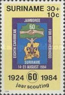 [The 60th Anniversary of Scouting in Surinam, Typ AUR]