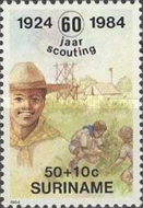[The 60th Anniversary of Scouting in Surinam, Typ AUT]