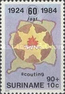 [The 60th Anniversary of Scouting in Surinam, Typ AUU]