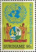 [The 40th Anniversary of the United Nations, Typ AWD]