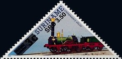[Railway Locomotives Issue of 1991 Surcharged, Typ AWM2]