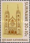 [The 100th Anniversary of St. Peter and St. Paul's Cathedral, Paramaribo, Typ AXP]