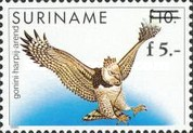 [Birds Issue of 1986 Surcharged, Typ AXZ1]
