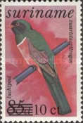 [Airmail - Bird Stamps Surcharged, Typ AYP]