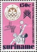 [The 10th Pan-American Games, Indianapolis, Typ AZC]