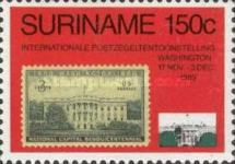 [International Stamp Exhibition WORLD STAMP EXPO '89 - Washington, USA, Typ BCX]
